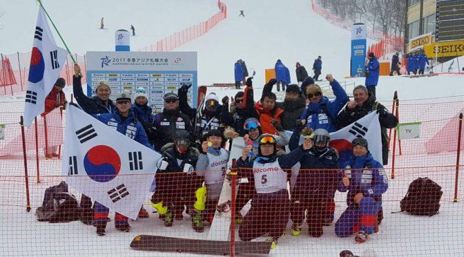 Equipe Olympique de snowboard alpin de Corée du Sud